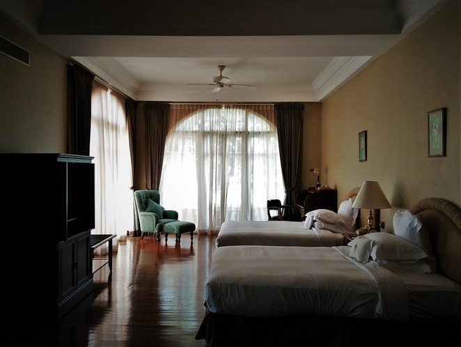 suite in E&O Hotel heritage wing, penang, malaysia
