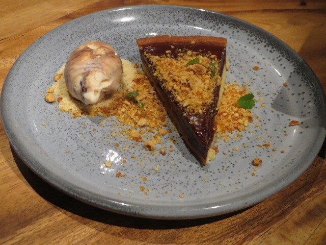 The Meat & Wine Co, Chocolate Tart, Adelaide
