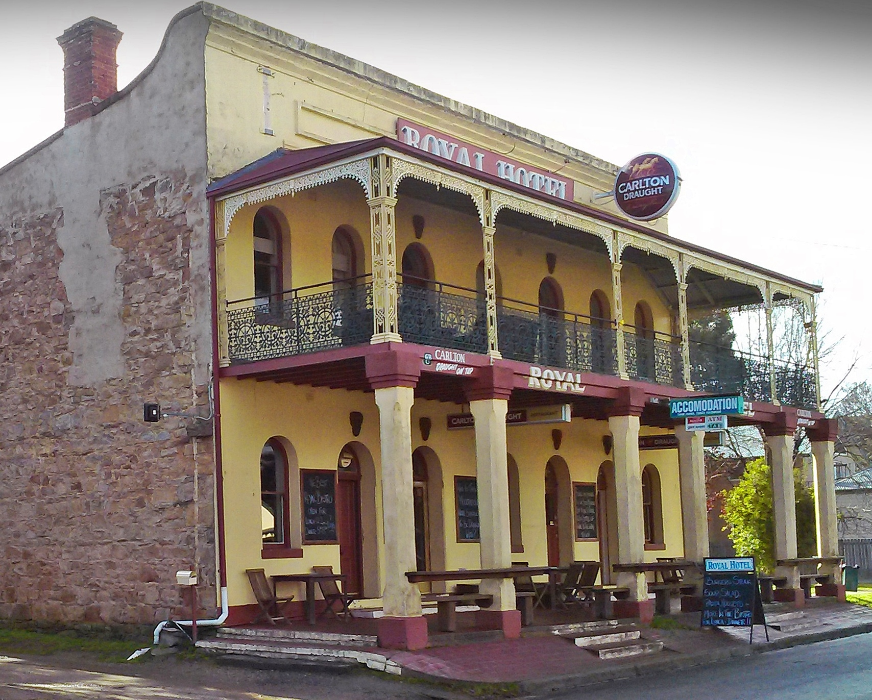Royal Hotel Bungendore Day Trips Canberra Trei Historical Pubs Nsw
