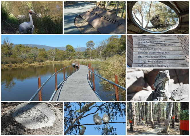 the sanctuary, tidbinbilla nature park, canberra, short walks, family walks, canberra, ACT, bushwalking with kids,