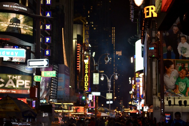 Rear of Times Square New York, New Years Eve Times Square, Ball Drop Times Square, Jade Jackson Photography