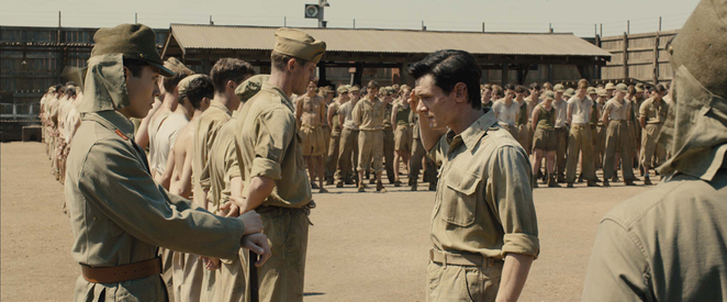 unbroken, film review, movie review, angelina jolie, jack o'connell, domhnall gleeson, takamasa ishihira, garrett hedlund, finn wittrock, jai courtney, olympian, runner