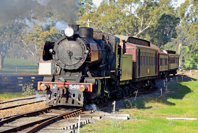 Victoria Melbourne Maldon Castlemaine Goldfields Railway Family Steam Train Experience Travel Get Out Of Town Escape The City