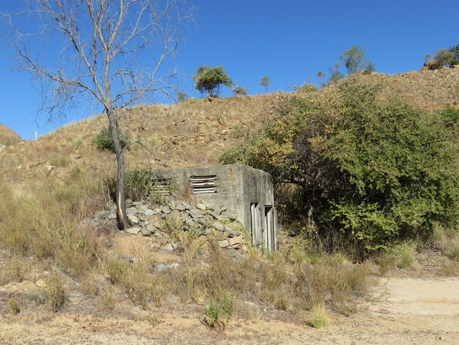 WWII bunker, towers hill, charters towers, queensland war history, things to see in charters towers,