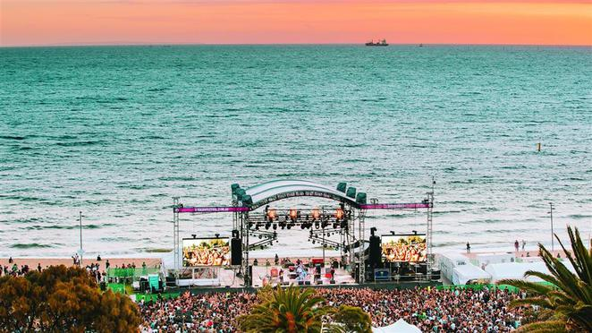 Major events in Melbourne Victoria, tourism, free events, Australian open, White Night Australia, Mussel festival, festival of sails, Great ocean grove cycle race, Superbike World Championship, Cowes beach,