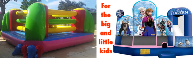The kids can enjoy a bonzer bounce while you browse at Roleystone Winter Markets