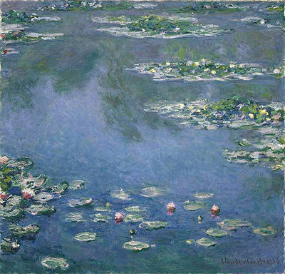 Claude Monet, Water Lilies, 1906