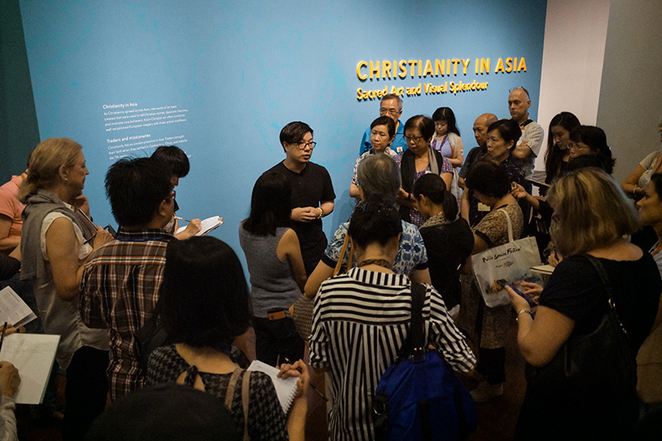 ACM, Christianity in Asia, Asian Civilisations Museum, Silk Road, Catholic, Portugal Trader, Curator tour, Clement Onn