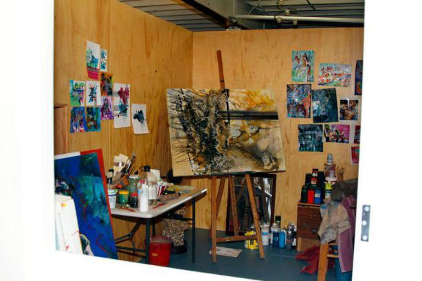 art gallery pop artist brisbane studio