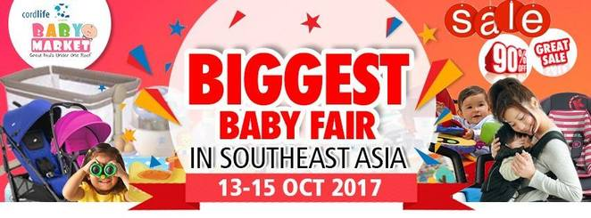 Baby Market 2017, baby fiar singapore, largest baby exhibition singapore, baby goodies