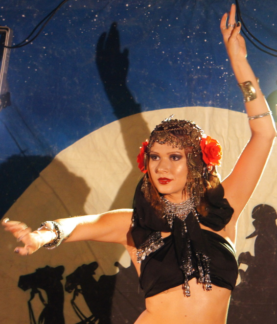 Express yourself through belly dance