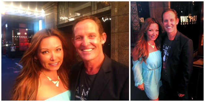 Betty Samis and Todd McKenney Grease Opening Melbourne