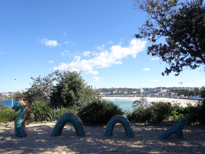biddigal reserve, bondi beach, bondi, sydney, new south wales, australia, travel, tourism, beach, park