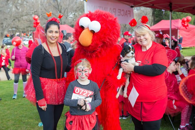 big red kidney walk melbourne 2019, community event, fun things to do, charity, fundraiser for kidney health, health and vfitness, kidney health australia, royal botanic gardens melbourne, raise awareness and vital funds, fun walk, local hero fundraiser walk, live music, kids activities, entertainment, prizes for top fundraisers, prizes for best dressed