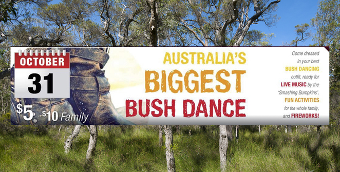 Bush Dance, Chaplancy, Charity, Events, Family Fun Day