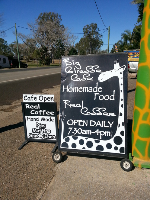 Cafe, food, Bruce Highway