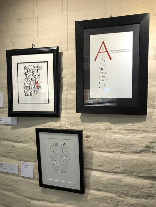 Calligraphy, art, free, gallery, exhibition, Eltham Library