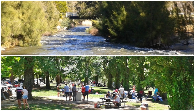 cotter reserve, day trips from canberra, road trips, river swimming, canberra, ACT, picnic spots,