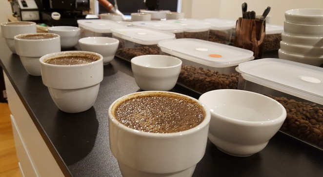 Cupping, Cupping session, The Q on Harris, Coffee Cupping, Coffee Tasting, Coffee grading, Indonesian Coffee, Coffee Beans, barista, coffee farming, Coffee course, Ultimo cafe