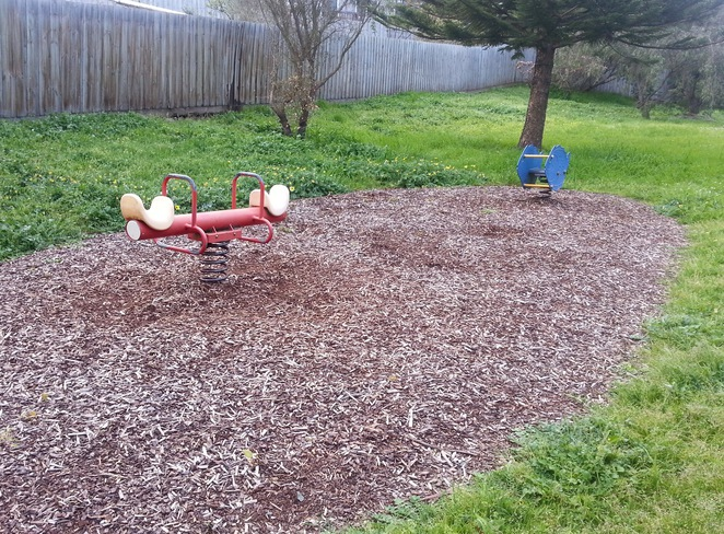 Cuthbertson Reserve, Ocean Grove, Bellarine, Playground, bouncers