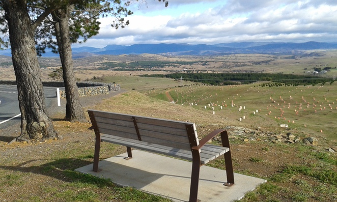 Dairy Farmers Hill, National Arboretum, Canberra