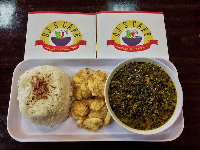 djs cafe and indonesian meals, indonesian food, indonesian food menu, takeaway food, djs cafe, daw park, indonesian, indonesian meals, goodwood road, special of the day