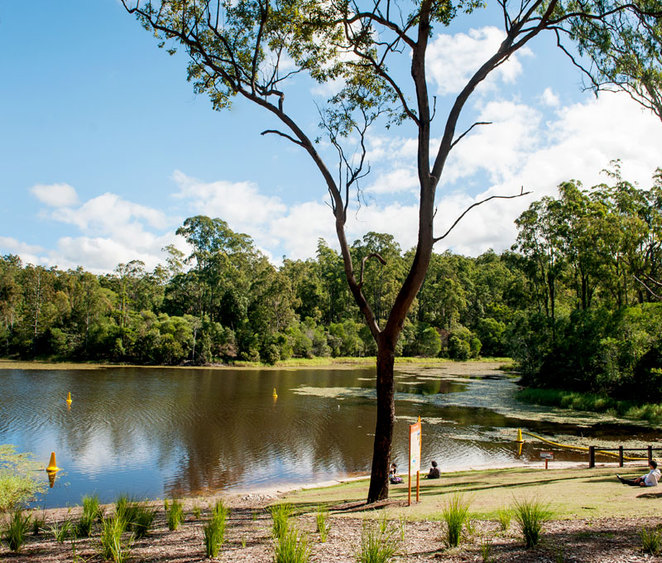 enoggera reservoir lake