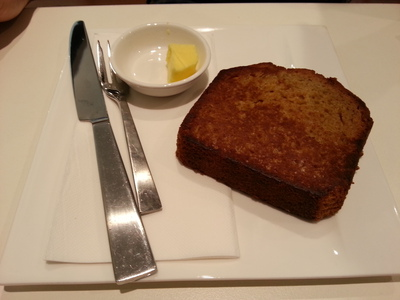 Banana Bread is just one of the delectable desserts on offer at First Pour Cafe