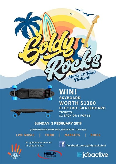goldy rocks festival 2019, community event, fun things to do, free event, live music, broadwater parklands, southport queensland, entertainment, peter cupples, stylus, colt seavers band, lecia louise, salt & steel, felicity lawless, wayne nuku, joe tee, donna heke, mojonative & shaun marshall, live music, food, free music event, markets rides,