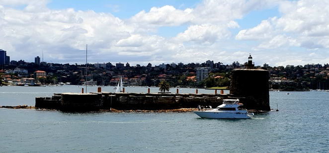 Harbour, Sydney, views, cruise, Fort Denison, history