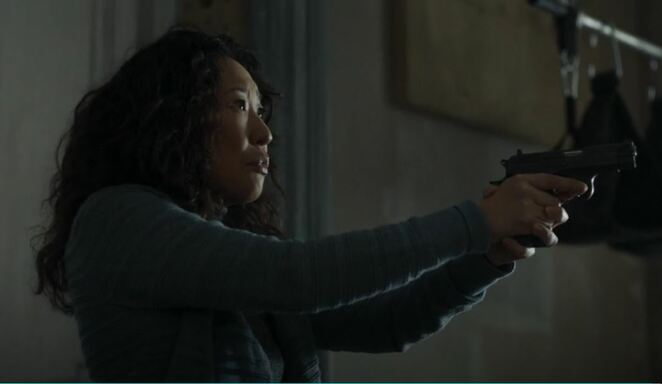 killing eve, Sandra Oh, assassing, Codename Villanelle