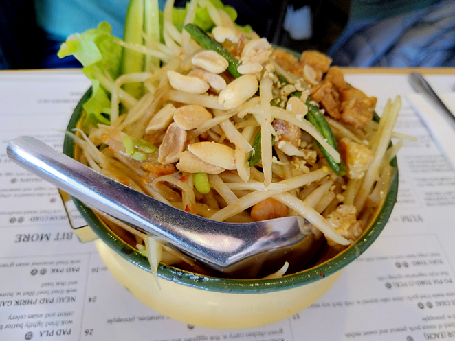 Kin Kin Thai Eatery Adelaide Hutt Street Delicious Flavour Chili Pad Thai Salad Grill Noodle Wok Larb Wok Restaurant Casual Authentic