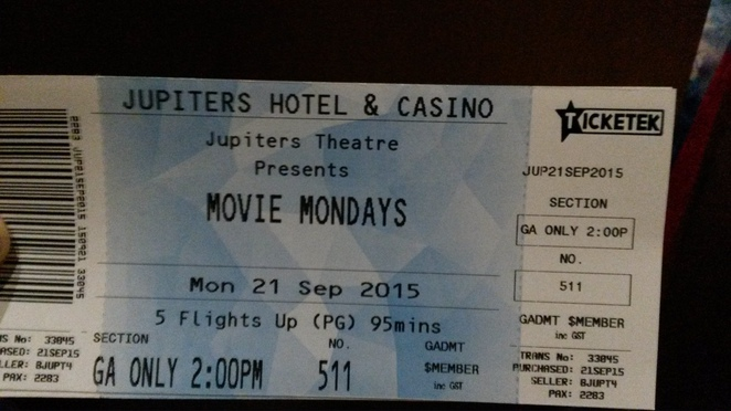 Movie Mondays at Jupiters Hotel and Casino