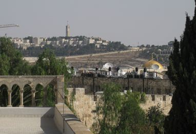 Mt of Olives & Dome of the Rock