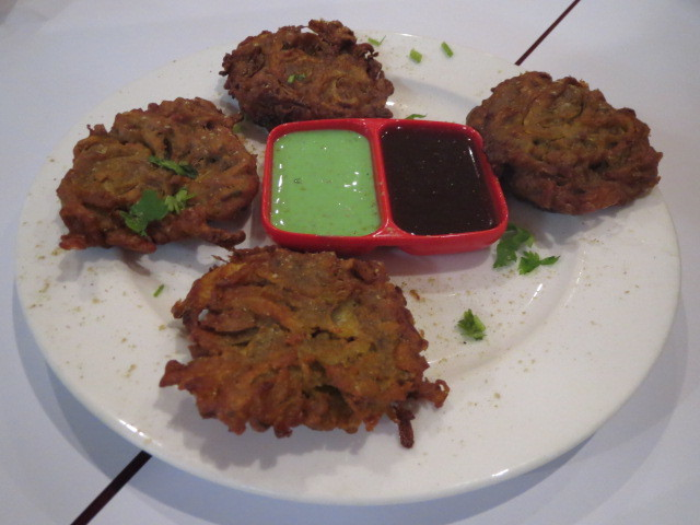 New India Restaurant, Onion Bhaji, Adelaide
