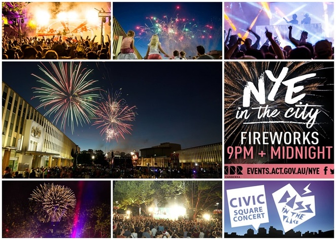 new years eve in the city, canberra, 2018, 2019, 2020, 2021, whats on fireworks, places to watch fireworks, ACT, canberra,