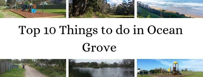 Ocean Grove, Bellarine, Geelong, Things to do, Markets, what's on, weekend away, holiday, trip, swimming, parks, playgrounds, lookout, beach, picnic,