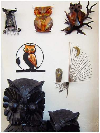 Owl Shop, Penang attractions, georgetown heritage, Lebuh Cannon, Khoo Kongsi, wood carving, Wall deco