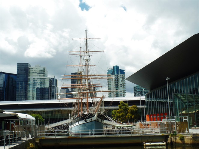 polly woodside, south wharf, melbourne