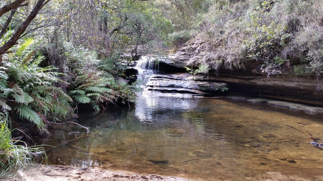 pope's glen track, blackhealth, lookouts, blue mountains, waterfall