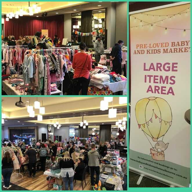 pre loved baby and kids market melbourne 2019, community event, fun things to do, preloved baby goods, hotel 520 tarneit, family event, preloved kids clothing, popular recycled kids brands, huge savings on baby goods, indoor market, recycle kids goods, deals on kids stuff, shopping, market stalls