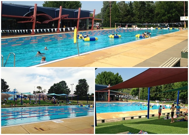 queanbeyan pool, q-one, canberra, NSW, splash park, swimming pools, kids, school holiday activities, summer, NSW, best splash parks, 50 metre outdoor pool, october to march,