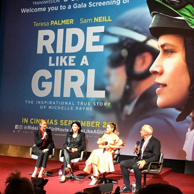 ride like a girl film review Michelle Payne Melbourne cup horse racing