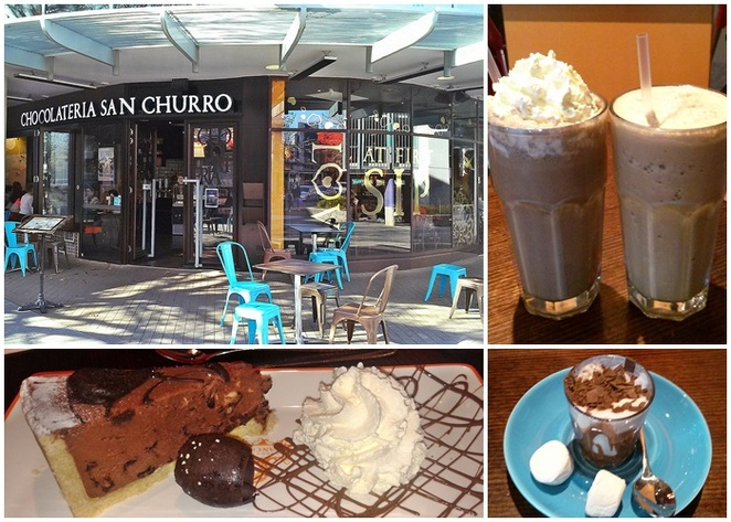 san churro, canberra, churros, woden, westfield shopping centre, hoyts, family friendly, ACT, restaurants,