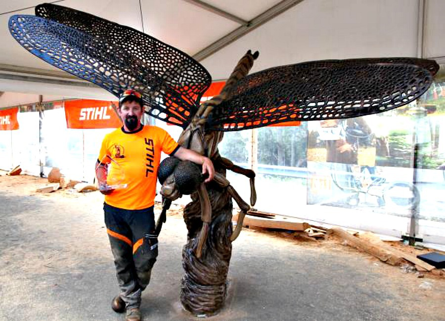 Australian chainsaw carving championship melbourne