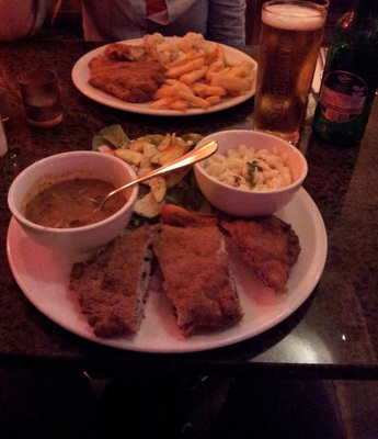 stuffed schnitzels from budapest