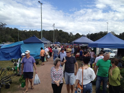 The locals love Yandina Markets