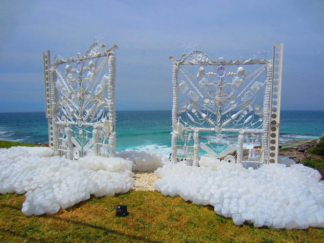 The Pearly Gates Jane Gillings Sculpture by the Sea