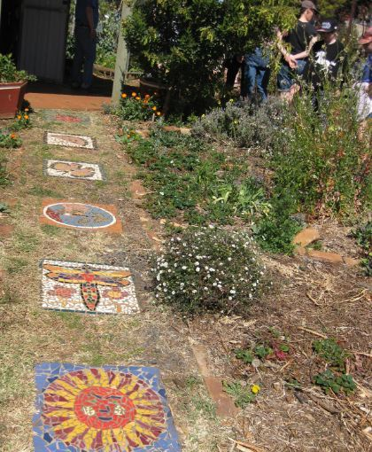 Toowoomba Community Organic Garden art path