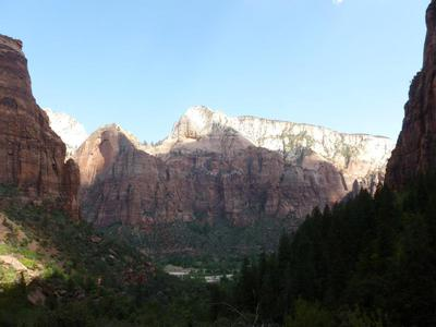 view zion